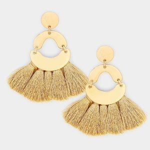 Tassel Fringe Earrings-Available in 4 Colors!❤️NWT